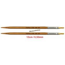 HiyaHiya Bamboe 13 cm - 6.5 mm - verwisselbare Large naaldpunten-tips