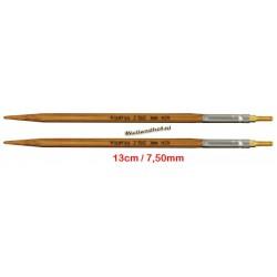 HiyaHiya Bamboe 13 cm - 7.5 mm - verwisselbare Large naaldpunten-tips