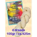 Ongeverfde Opal Sokkenwol - 4 draads