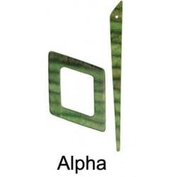 KnitPro Symphonie Sjaalspeld - Apha Misty Green