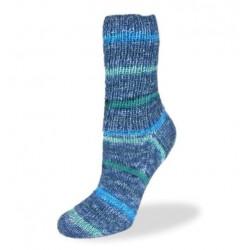 Rellana Flotte Socke Blue - 1254