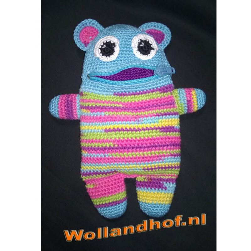 Patroon Zorgenvriendje Rainbow Wollandhof