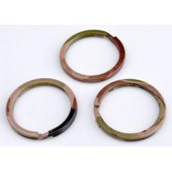Metalen Sleutelhanger Ring - Camouflage