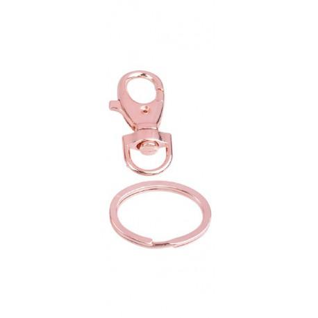 Metalen Sleutelhanger / Sluiting met Ovalen Ring