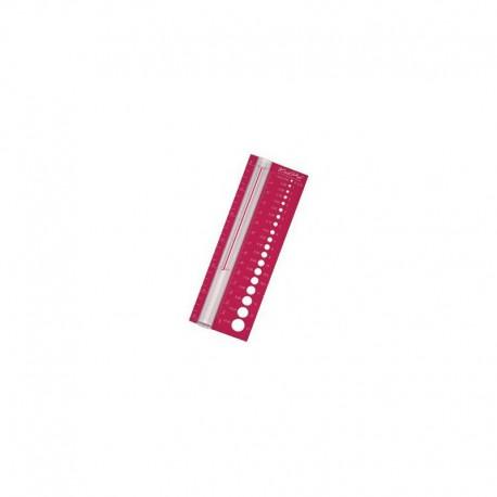 KnitPro Naalddiktemeter met loep