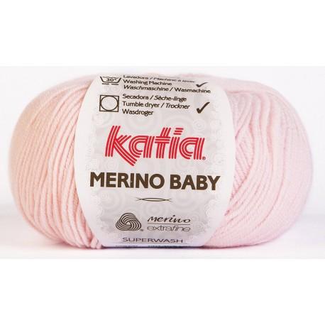 Katia Merino Baby - kleur 7 - Licht Roze
