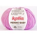 Katia Merino Baby - kleur 40 - Roze Lila