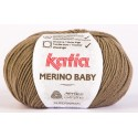 Katia Merino Baby - kleur 42 - Licht Bruin