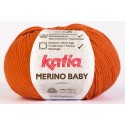 Katia Merino Baby - kleur 49 - Oranje