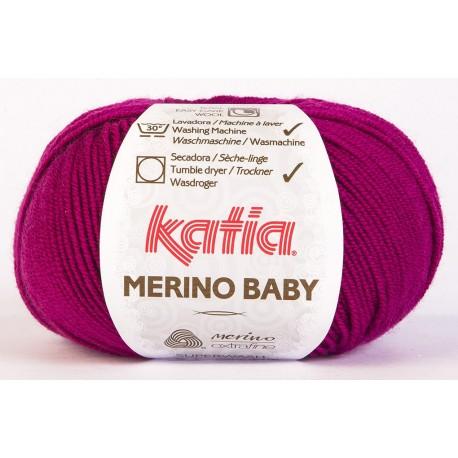 Katia Merino Baby - kleur 61 - Fuchsia