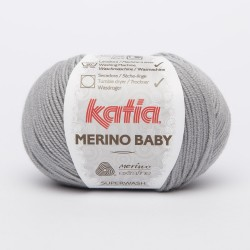 Katia Merino Baby - kleur 70 - Grijs