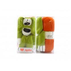 Katia New Dog Breipakket Groen - Oranje