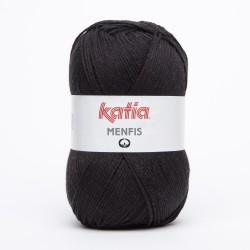 Katia Menfis kleur 2 - Zwart OP is OP