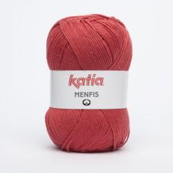 Katia Menfis kleur 18 - Rood -- Op is OP --