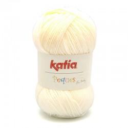 Katia Peques Baby Acryl - kleur 84902 Creme OP is OP