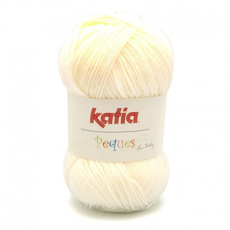 Katia Peques Baby Acryl - kleur 84902 Creme