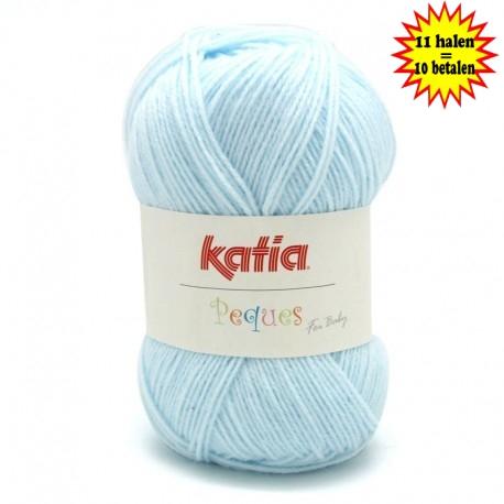 Katia Peques Baby Acryl - kleur 84909 Zeer Licht Blauw