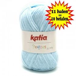 Katia Peques Baby Acryl - kleur 84914 Licht Blauw OP is OP