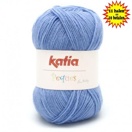 Katia Peques Baby Acryl - kleur 84917 Jeans
