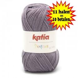 Katia Peques Baby Acryl - kleur 84938 Lila OP is OP