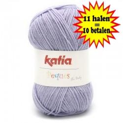 Katia Peques Baby Acryl - kleur 84939 Violet OP is OP