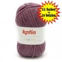 Katia Peques Baby Acryl - kleur 84942 Oud Paars OP is OP