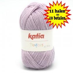 Katia Peques Baby Acryl - kleur 84920 Lavendel OP is OP