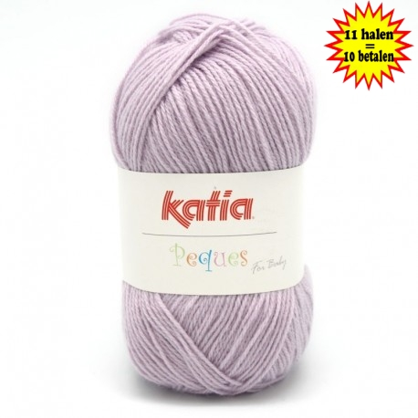 Katia Peques Baby Acryl - kleur 84920 Lavendel