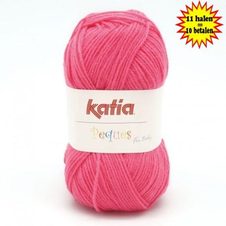Katia Peques Baby Acryl - kleur 84923 Donker Roze