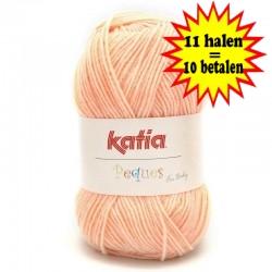 Katia Peques Baby Acryl - kleur 84928 Perzik OP is OP