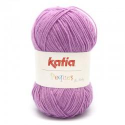 Katia Peques Baby Acryl - kleur 84930 Paars OP is OP