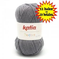 Katia Peques Baby Acryl - kleur 84937 Donker Grijs OP is OP