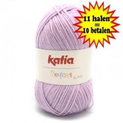 Katia Peques Baby Acryl - kleur 84940 Roze Lila OP is OP