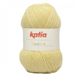 Katia Peques Baby Acryl - kleur 84945 Vanille