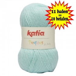 Katia Peques Baby Acryl - kleur 84947 Baby Blauw OP is OP