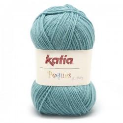 Katia Peques Baby Acryl - kleur 84948 Ocean OP is OP