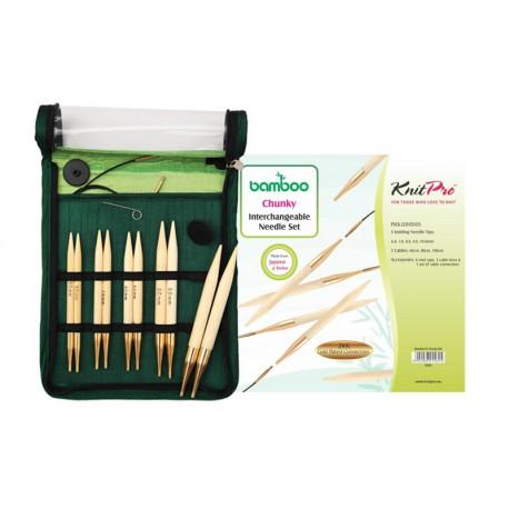 KnitPro Bamboo IC Chunky Set