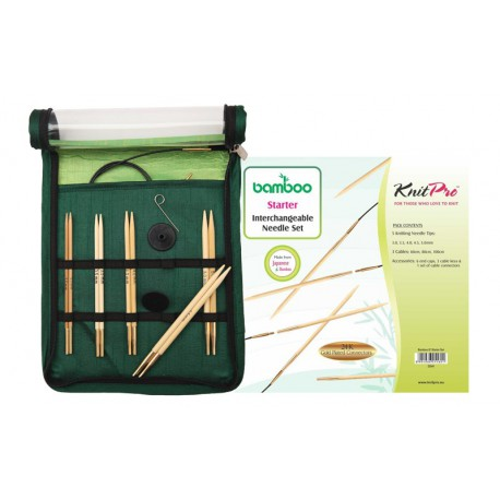 KnitPro Bamboo IC Starter Set