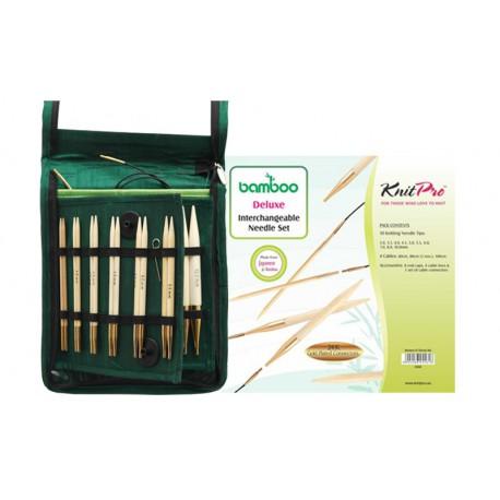 KnitPro Bamboo IC Deluxe Set