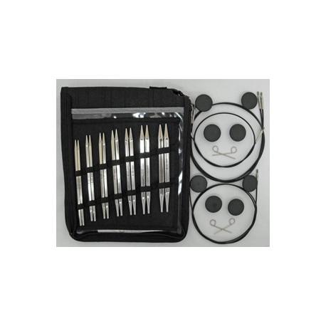 KnitPro Karbonz IC Deluxe Set