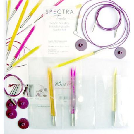 KnitPro Spectra Trendz IC Starter Set
