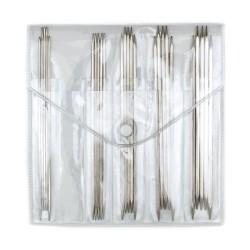 KnitPro Nova Cubics Sokkennaalden Set - 15 cm
