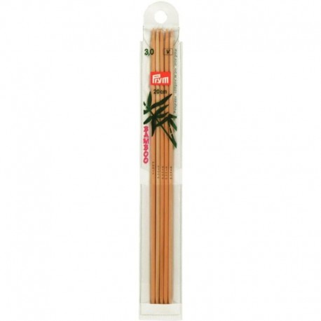 Prym Bamboe 20 cm Sokkennaalden - 3.0