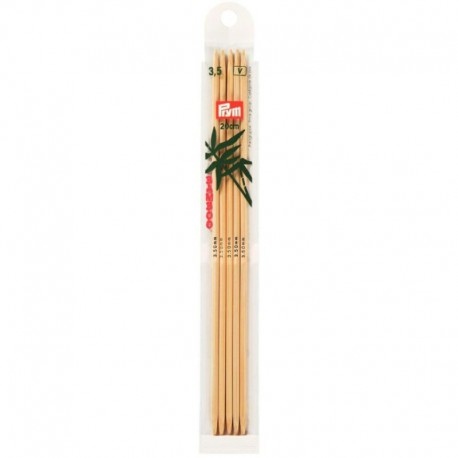 Prym Bamboe 20 cm Sokkennaalden - 3.5