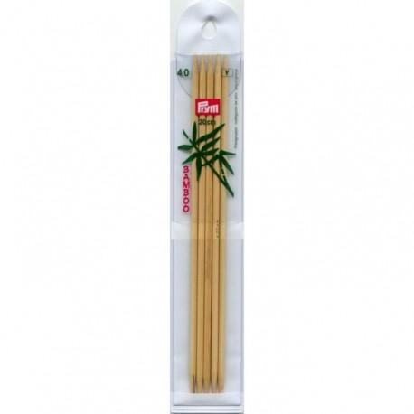 Prym Bamboe 20 cm Sokkennaalden - 4.0