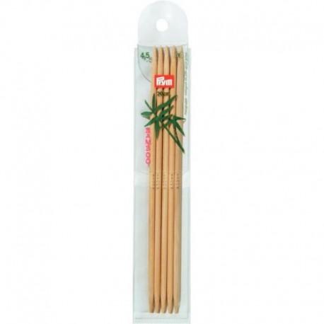 Prym Bamboe 20 cm Sokkennaalden - 4.5