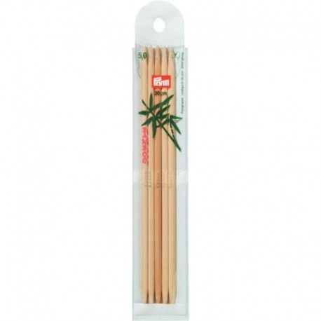 Prym Bamboe 20 cm Sokkennaalden - 5.0