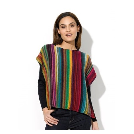 Poncho Darling Rainbow 91-45
