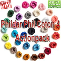 Phildar Phil Coton 4 Action Pack