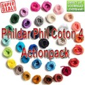 Phildar Phil Coton 4 Action Pack
